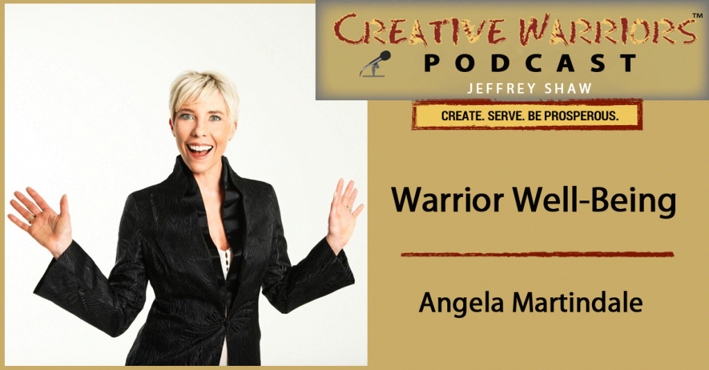 Angela Creative Warrior Podcast Cover